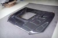 Mercedes-Benz W212W213 E200E260E320 Transparent carbon fiber hood