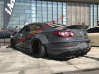 Volkswagen CC wide body kit wide fenders front lip after lip wing side skirts