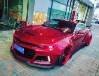 Chevrolet Camaro wide body kit front lip fenders side skirts spoiler after lip front bumper
