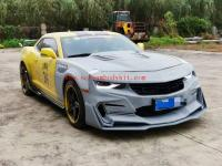5 GEN Chevrolet Camaro update BUMBLE BEE Transformers wide body kit front bumper grills after bumper hood wing side skirts
