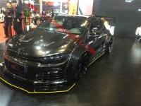 VW Scirocco R wide body kit