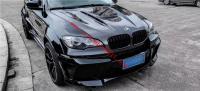 BMW X6 E71 body kit front bumper rear bumper side skirts fenders hood spoiler