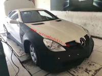 Mercedes-Benz R171 SLK wide body kit front bumper after bumper side skirts fenders