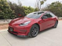 16-19 Tesla Model 3  front lip side skirts spoiler rear lip dry carbon fiber