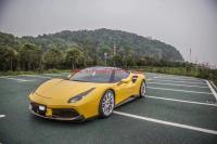 Ferrari 488 GTB body kit Novite front lip rear diffuser side skirt spoiler dry carbon fiber etc