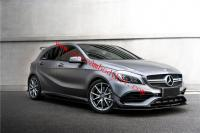 Mercedes-Benz A45 A200 A260 front lip rear lip side skirts spoiler carbon fiber