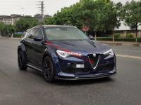 Alfa Romeo Stelvio wide body kit front lip after lip fenders spoiler hood(basic version)