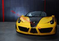 Ferrari 458 body kit front bumper after bumper fender hood
