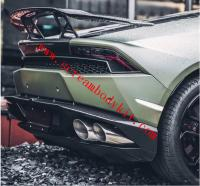 Lamborghini huracan 610 580 Mansory carbon fiber spoiler