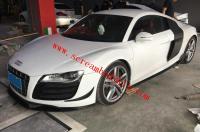 Audi R8 body kit front lip rear lip side skirts spoiler mirrors canards
