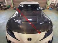 Toyota A90 GR supra carbon fiber hood