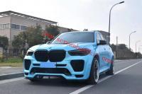 BMW X5 G05 wide body kit front bumper rear bumper side skirts wide fenders
